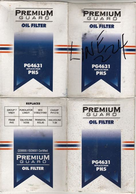 Filter Barn Premium Guard Pg4631 Gm Truck Central