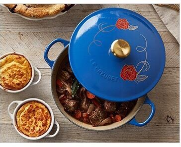 be our guest le creuset williams sonoma le creuset disney s beauty and the