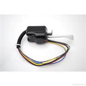truck lite signal stat 900 turn signal switch in flat black by truck lite with 7 wire harness 900