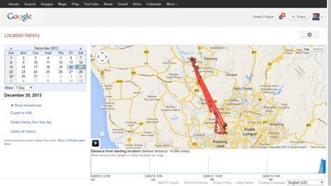 maps location history ketahui dan pantau lokasi anda melalui maps location history amanz