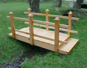 how to build a small wooden bridge free small wooden bridge plans woodworking projects plans