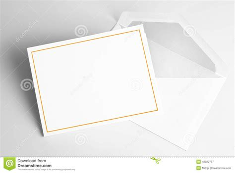blank wedding invitation cards and envelopes blank invitation card and envelope stock illustration