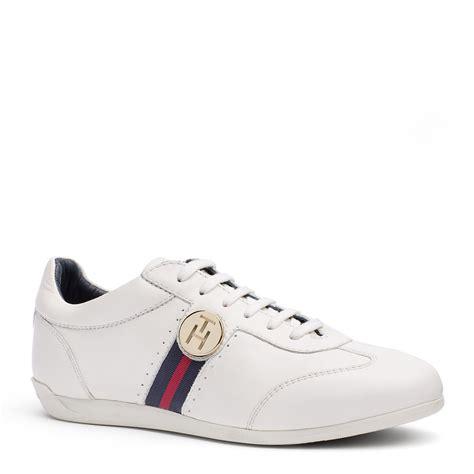 hilfiger white sneakers hilfiger sally sneaker in white for whisper