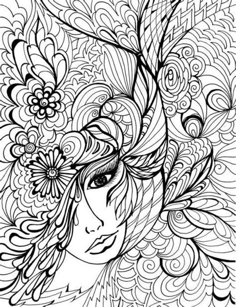 coloring page for adults printable difficult animals coloring pages for adults