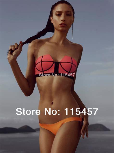 aliexpress buy 2014 new one aliexpress buy 2014 s neoprene bikinis sets