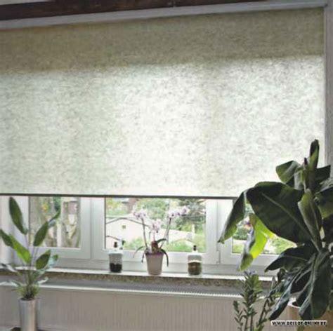 Rollo Halbtransparent by Glasleisten Rollo Fleece Uni Lamellenvorhang