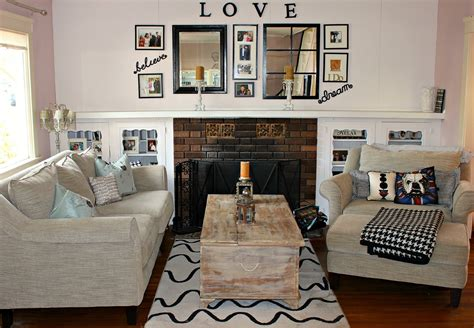 ideas on decorating a living room diy room decor ideas for new happy family