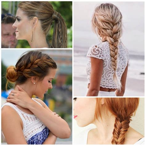 Simple Braid Hairstyles by Easy To Do Braided Hairstyles To Try In 2016 2017