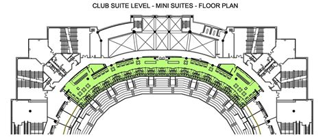united center floor plan united center mini suites j michael anderson archinect