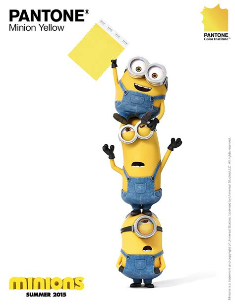 color intelligence pantone color institute introducing minion yellow