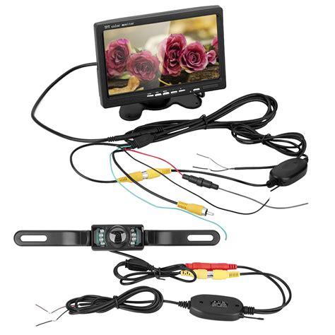 Monitor Lcd Vision Kamera car rear view system wireless backup vision