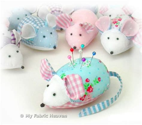 cute mouse pattern details about cute mouse pin cushion easy sewing pattern