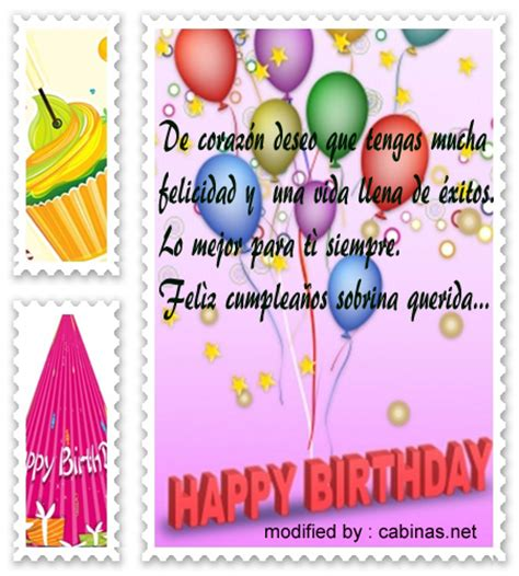imagenes bonitas de cumpleaños para sobrina saludos de feliz cumplea 241 os a mi sobrina tarjetas de