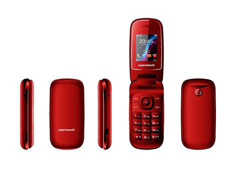 mobile phone products superinworld in stock flip phone e1272 with fcc