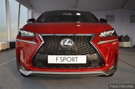 lexus nx launched in malaysia from rm299k rm385k image 307760