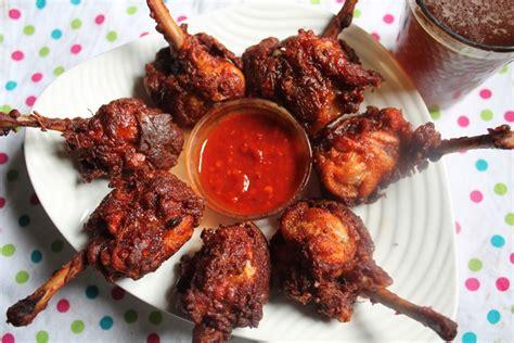 yummy tummy chicken lollipop recipe restaurant style chicken lollipop recipe