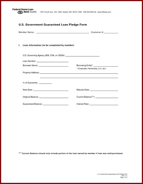 simple loan document template secured loan form contract 60 days day loans for