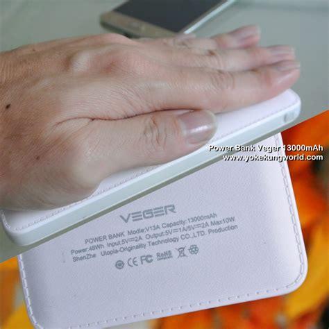Power Bank Veger 13000mah ร ว ว แบตสำรอง แบตสำรอง veger power bank veger