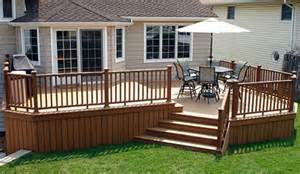 Backyard Decking by Outdoor Deck Pictures