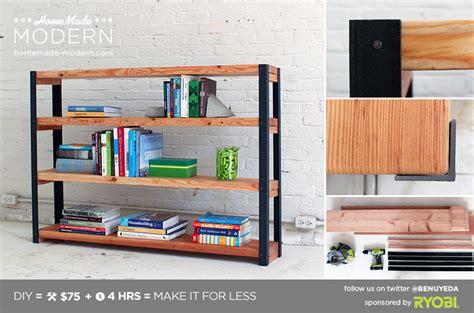 Home Made Modern by Modern Ep36 Ironbound Bookcase