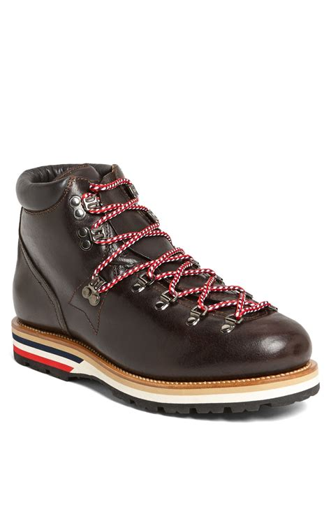 mens moncler boots moncler matterhorn hiking boot in brown for