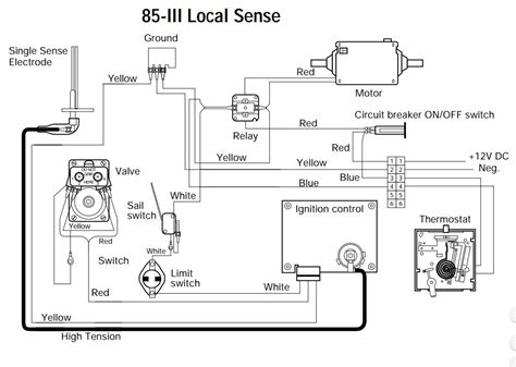 rv furnace thermostat wiring diagram circuit and