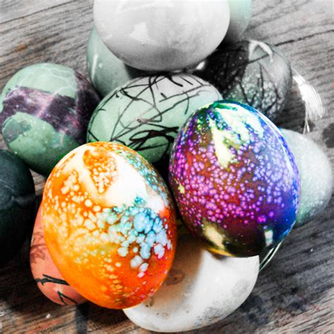 dying easter eggs creatively s tie dyed easter eggs