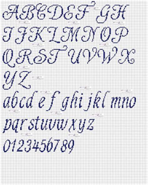 lettere punto croce in corsivo amorevitacrocette punto croce alfabeti in corsivo