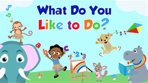 what do you like doing in your free