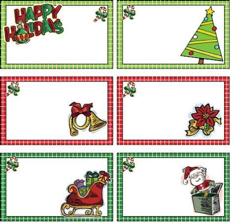 etiquetas de navidad para imprimir imprime tus etiquetas de navidad gratis para los regalos