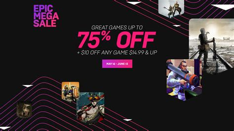 epic game store les mega sale dete deja disponibles