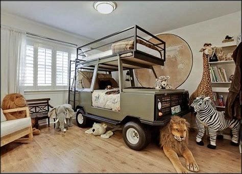 Car Bed Designs For Children Homesfeed Cers With Bunk Beds