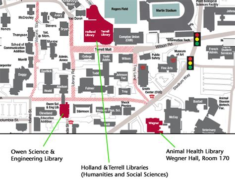 Music City Center Floor Plan by Library Hours And Locations Wsu Libraries