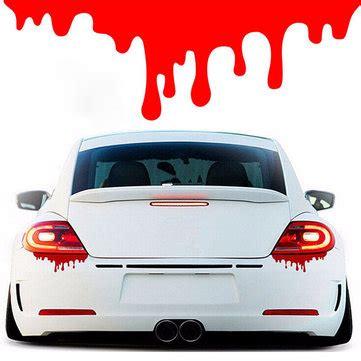 Lustige Sticker Auto by Blood Drips Car Sticker Decals Light Window