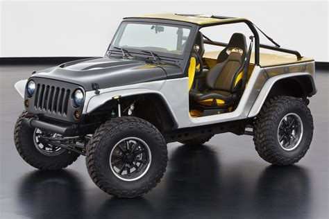 who makes jeep wrangler jeep makes six concepts for the 47th annual moab easter safari