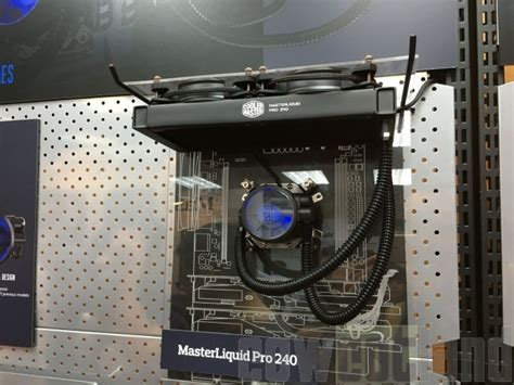 Cooler Master Liquid Pro 120 computex 2016 cooler master pr 233 sentait ses masterliquid