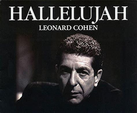 hallelujah leonard cohen testo hallelujah leonard cohen significato traduzione