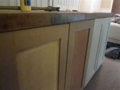 making cabinet doors out of mdf mdf cabinet build 1 youtube