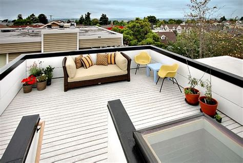 house plans with roof deck terrace decorating a rooftop space in five easy steps