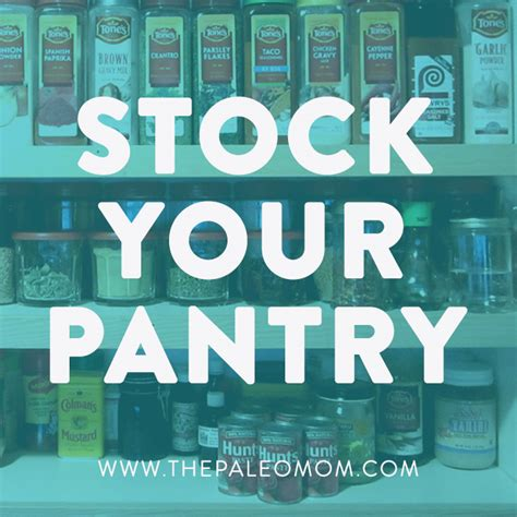Stock Your Pantry by 5 Tips For Paleo On A Budget