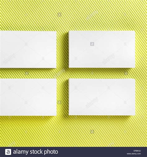 blank credit card template green photo of blank business cards on green background