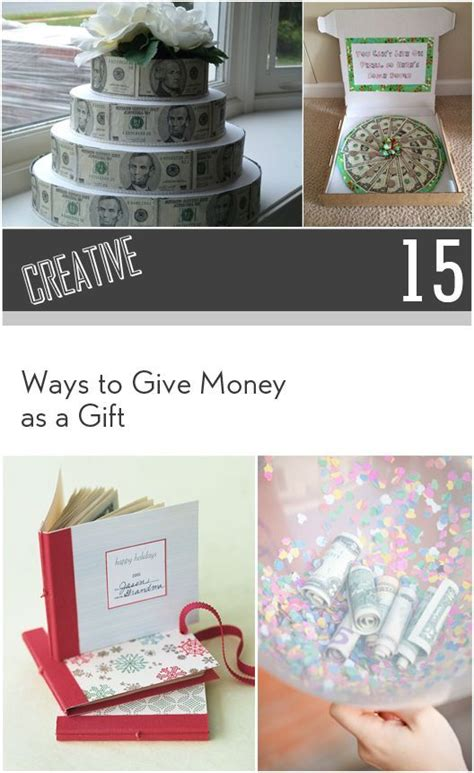 15 creative ways to give money as a gift money creative