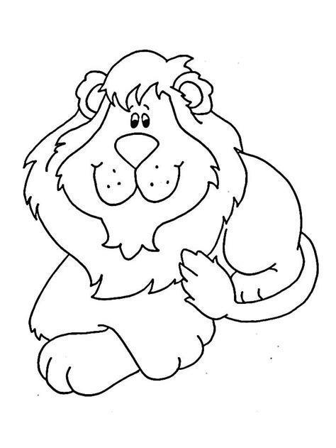 coloring pages of lion cubs cute lion cub animals coloring pages