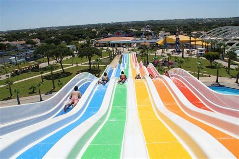 theme park lisbon aquashow aquatic park quarteira algarve
