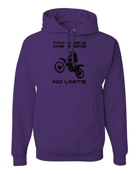 Hoodie Motocross no limits motocross graphic dirt bike mx mens pullover sweatshirts hoodies ebay