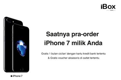 Harga Iphone 7 Di Ibox daftar harga dan cara pre order iphone 7 di ibox macpoin