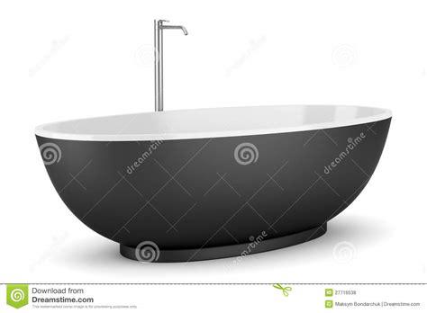 schwarze badewanne moderne schwarze badewanne getrennt auf wei 223 lizenzfreie