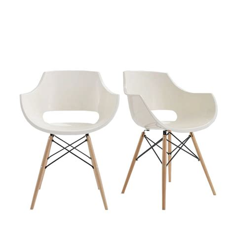 chaises blanches design chaise designer banche skoll pi 232 tement bois by drawer