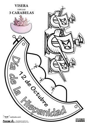 carabelas de cristobal colon para armar m 225 s de 25 ideas incre 237 bles sobre d 237 a de la hispanidad en