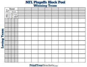 printable bowl block pool template printable nfl playoffs block pool